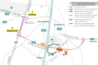 Rotonde N16-Blaasveldstraat verdwijnt en wordt kruispunt met verkeerslichten