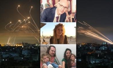 """Vlamingen in oorlogsgebied Israël getuigen: """"Eerst werd er lacherig gedaan over ons 'eerste bombardement'"""""""