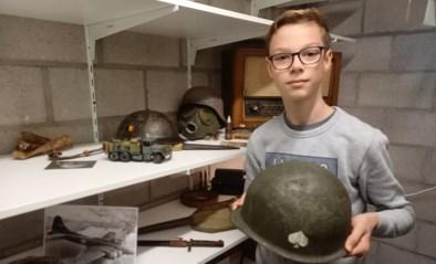 Tiebe (12) verzamelt alles rond Tweede Wereldoorlog