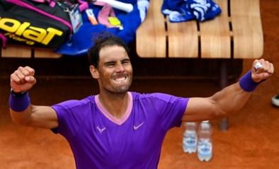 Rafal Nadal klopt Alexander Zverev op weg naar halve finales in Rome