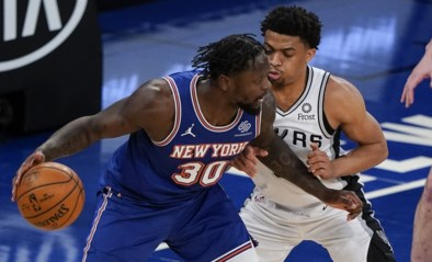 San Antonio Spurs moeten barrages spelen in NBA na nederlaag in New York