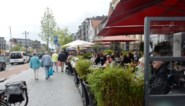 Opnieuw markt met terrasjes