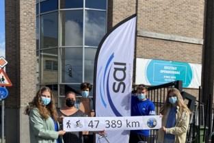 Studenten Sint-Augustinusinstituut leggen samen 47.389 kilometer af