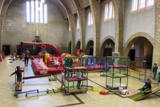 Kerk omgetoverd tot speelparadijs voor kleuters