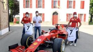 Cristiano Ronaldo bezoekt Ferrari: dollen met F1-piloten, wat rondjes rijden en... vertrekken met auto van 1,6 miljoen euro