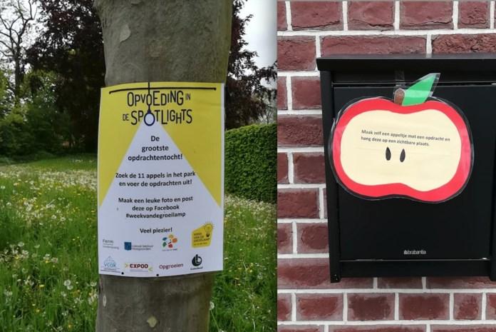 Huis van het Kind: zoek de elf appels in het park