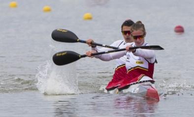 Lize Broekx en Hermien Peters grijpen nipt naast een World Cup medaille