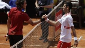 Djokovic stoot door naar halve finales in Rome