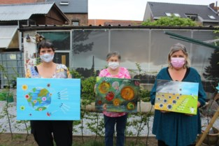 Kunstgroep schildert frustratie van zich af in 'coronatentoonstelling'