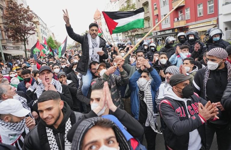 Duizenden betogen in Brussel voor #FreePalestine