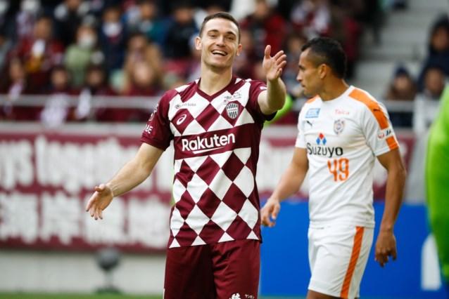 Loeiharde uithaal van Thomas Vermaelen levert Vissel Kobe in blessuretijd nog een punt op