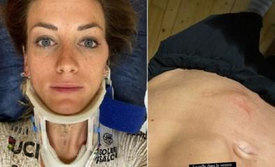 """Alleskunner en wereldkampioene Pauline Ferrand-Prévot valt zwaar tijdens wedstrijd: """"Ik kon enkele minuten niet ademen"""""""