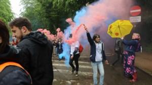 Geen La Boum, wel betoging tegen coronamaatregelen in Ter Kamerenbos