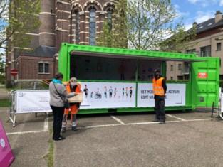 Hasselt trekt jaar lang rond met mobiel recyclagepark