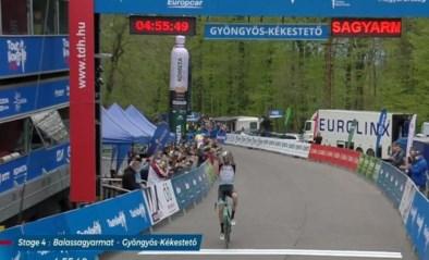 Damien Howson houdt Ben Hermans van winst in koninginnenrit Ronde van Hongarije