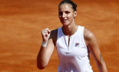 Karolina Pliskova treft Iga Swiatek in finale WTA-toernooi Rome
