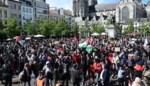 Honderden betogers voor Palestina komen samen op verschillende plaatsen in Vlaanderen
