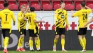 Thomas Meunier en invaller Thorgan Hazard met Dortmund op weg naar Champions League ticket