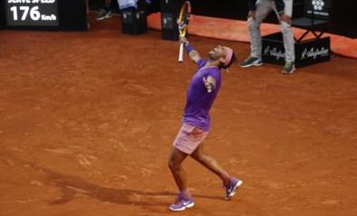 Rafael Nadal is al voor tiende keer (!) de beste op gravel in Rome, ten koste van Novak Djokovic