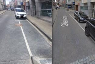 Raadsel opgelost: te smalle parking is voor moto's