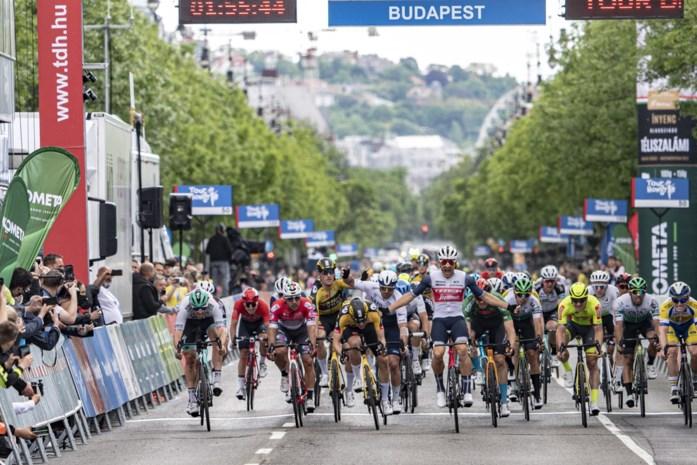 "Edward Theuns spurtwinnaar in Boedapest: ""De kers op de taart"""