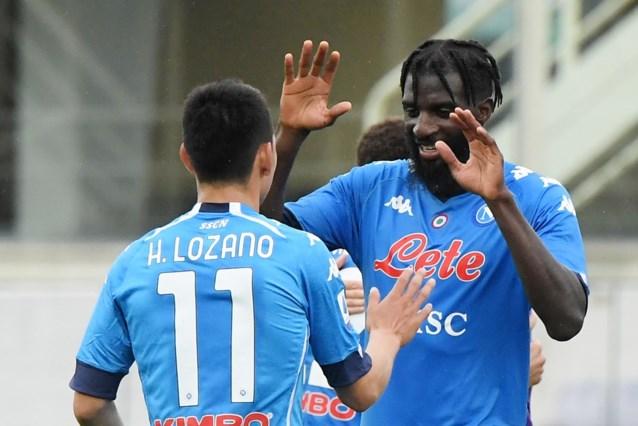 Napoli houdt kansen op Champions League gaaf na zege bij Fiorentina