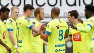AA Gent walst over tien man van KV Oostende en wordt tweede in Europe play-offs