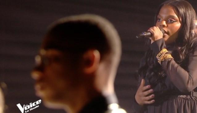 Denderleeuwse Mentissa Aziza wint brons in Franse Voice