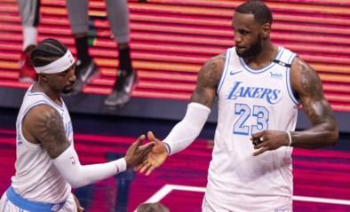 LA Lakers dromen nog steeds van play-offs na zege bij Indiana Pacers