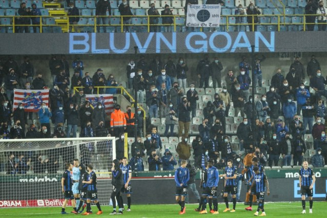 Club Brugge wil zondag titel vieren met 500 man in tribune
