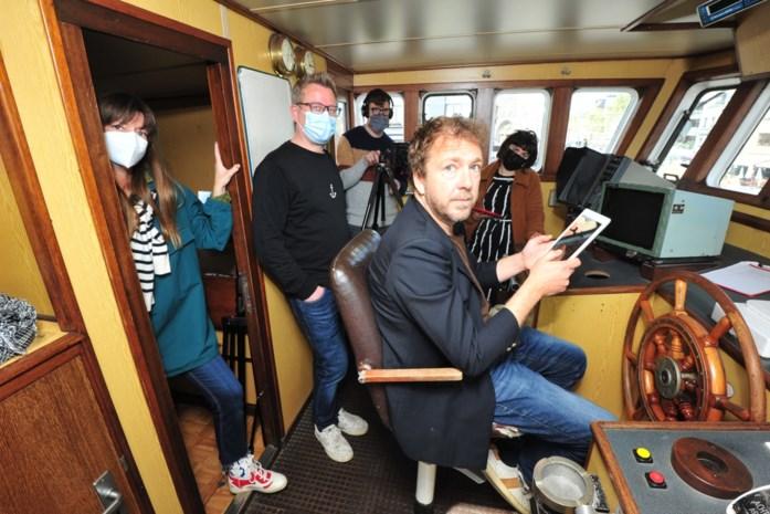 """Acteur Sebastien Dewaele is virtuele gids op expo 'Onze IJslandvaarders': """"De visserij zit als Oostendenaar in ons DNA"""""""