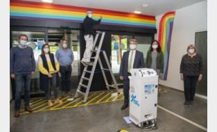 Regenboogmuur verwelkomt bezoekers OostCampus