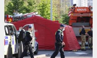 Voetganger in levensgevaar na aanrijding met kraanwagen in Antwerpen