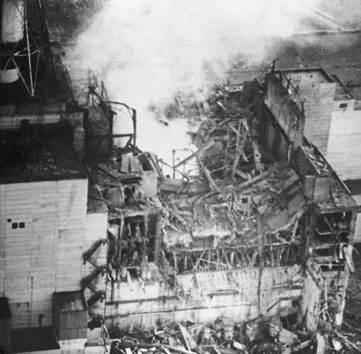 Kernafval smeult in afgesloten kernreactor Tsjernobyl
