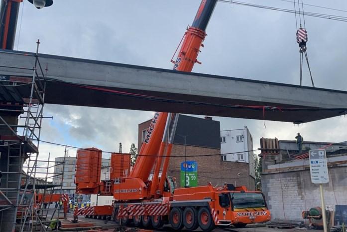 Infrabel vernieuwt spoorbruggen en spoorstaven