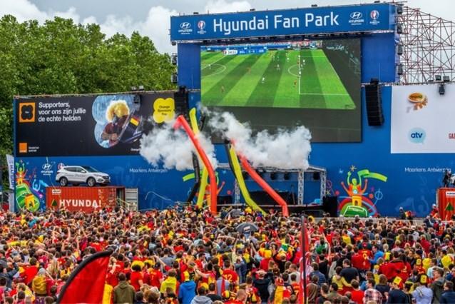 We mogen met 400 supporteren voor de Rode Duivels (en met 2.500 als ze de kwartfinale halen)
