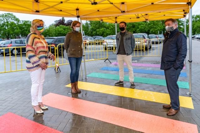 Sint-Truiden legt regenboogpad aan op de Internationale dag tegen homofobie en transfobie