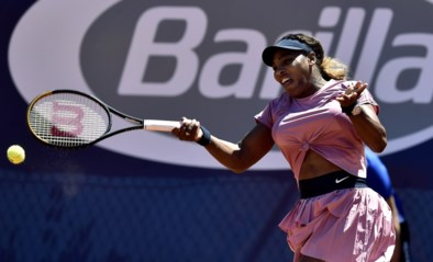 Serena Williams neemt maat van Lisa Pigato op WTA-toernooi in Parma