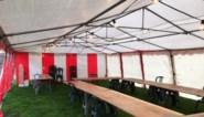 Verenigingen mogen gratis gebruikmaken van open tenten