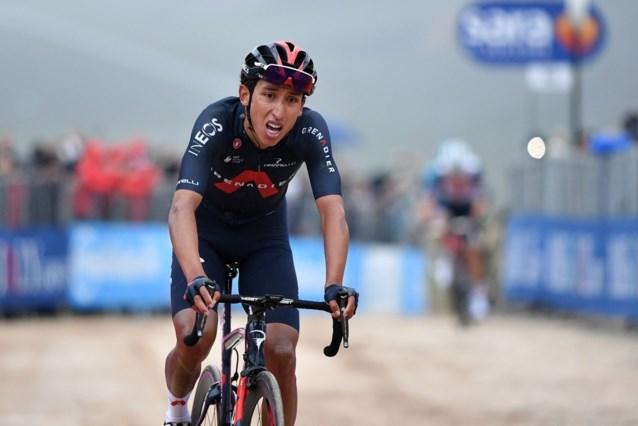 Daarom stak Egan Bernal zijn armen niet in de lucht toen hij etappe en roze pakte in de Giro