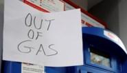 Benzinetekort in de VS neemt af