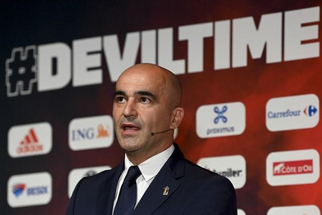 """Roberto Martinez over EK-selectie: """"We verwachten niets van Axel Witsel, voor Marouane Fellaini is het te lang geleden"""""""