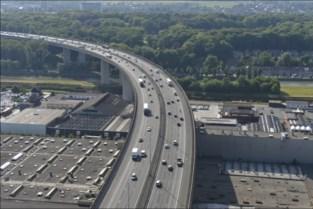 Aantal rijstroken op viaduct van Vilvoorde afgesloten voor betononderzoek