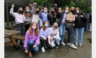 Ursulinen kleurt paars op Internationale Dag tegen Holebi- en Transfobie
