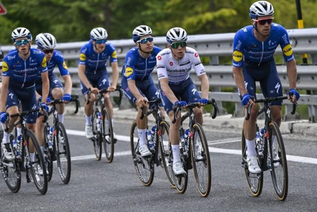 Quick-Step blijft, maar Deceuninck stopt na drie jaar als hoofdsponsor van ploeg Patrick Lefevere