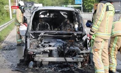 Auto brandt uit in Aalst, bestuurder komt er met de schrik vanaf