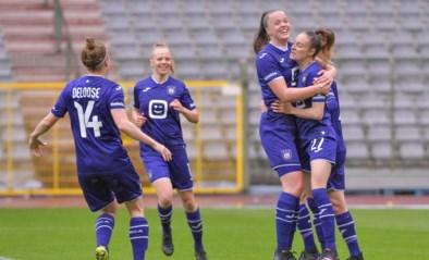 Kampioen Anderlecht dient vrouwen van Standard zware 2-7 nederlaag toe