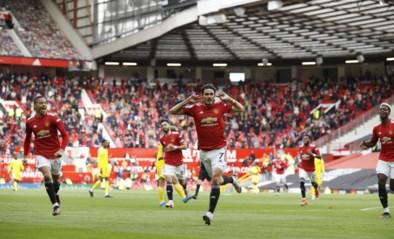 Cavani verwent (misnoegde) fans van Manchester United bij terugkeer met geniale ingeving