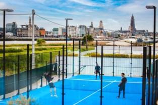Club Cabane maakt plaats voor padelvelden: sporten met zicht op de Antwerpse skyline