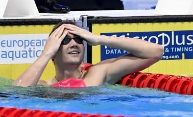 Kliment Kolesnikov verbetert op EK zwemmen opnieuw zijn wereldrecord 50m rugslag